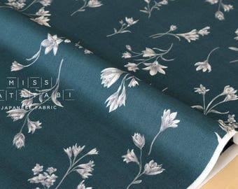Japanese Fabric minimal foliage - cotton lawn - 50cm