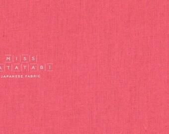 Japanese Fabric Kokka Tayutou solids - pink - 50cm