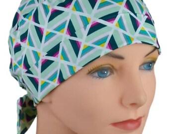 Scrub Caps for Women - Small - The Mini - Fabric Ties
