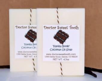 Handmade Coconut Oil Soap (You Pick Scent) No Sulfates