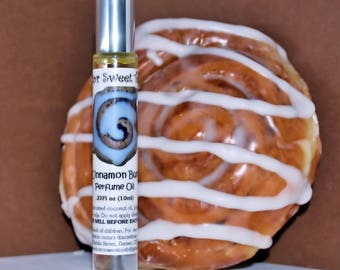Cinnamon Bun Handmade Perfume Oil Roll-On