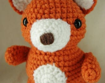 Summer Sale Little Fox Crochet pattern PDF