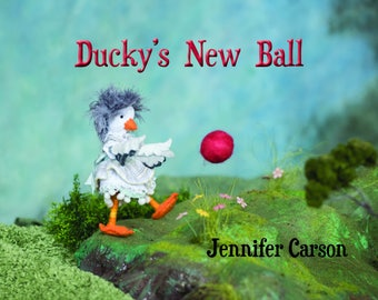 Ducky's New Ball, Story picturebook for young readers, Pre-order now