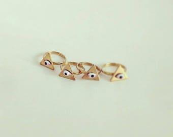 Knuckle -Midi- Eye Ring