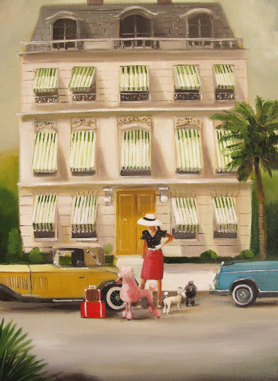 That Summer In Monte Carlo. Art Print.