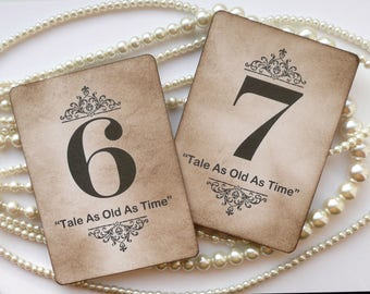 Wedding Table Numbers, Beauty Beast Theme, Luxury Decorations, Wedding Decorations, Wedding Centrepiece, Black Table Number, Vintage Ideas