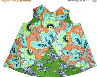 SALE Criss Cross Tunic Pattern ebook reversible -- PDF 3m - 12 girls PDF Instant
