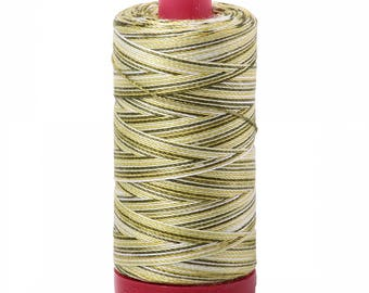 Aurifil Mako Cotton Thread 12wt 356yds Variegated 4653
