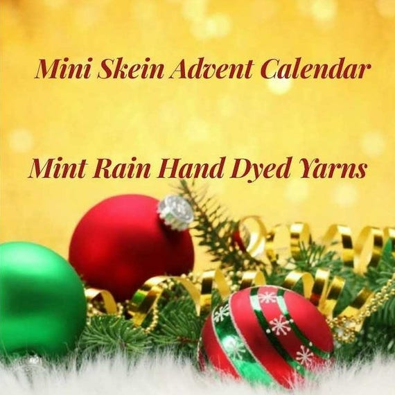 Mini Skein Advent Calendar 2017 with Project Bag