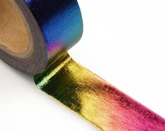 Metallic Rainbow Washi Tape