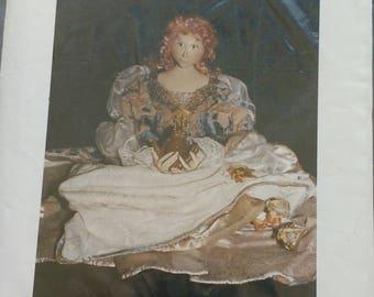 Just A Fairytale Doll Pattern by Rebekah Holloway