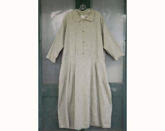 Angelheart Designs Retro Mia's Magic Dress in Green Linen size L