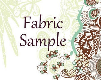 Fabric Swatch Reserved for  Michelle