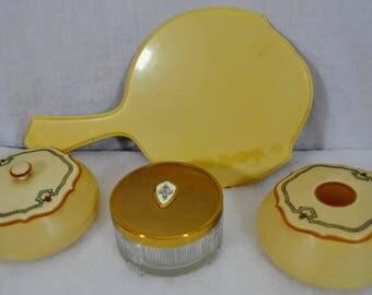 Dresser Jars Mirror - Boudoir Items - Ma Lady - Covered