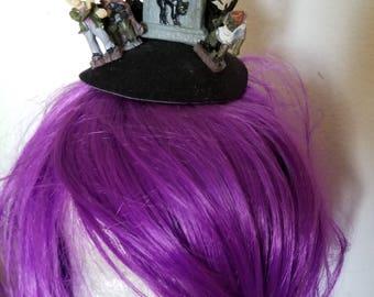 Halloween, Cemetery, RIP, Goth, Halloween fascinator, Halloween hat, Zombie, Horror, Horror hat, MsFormaldehyde