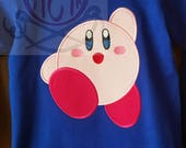 Kirby Birthday Shirt Front and Back Embroidery Youth Shirt