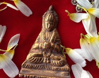 Brass Buddha or Boddhisattva