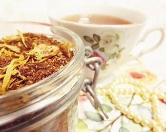 Jazz and Romance Rooibos, Almond Rooibos, Vanilla Rooibos. Loose Leaf Tea