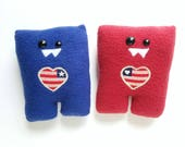 Patriotic Nubbins Set of 2