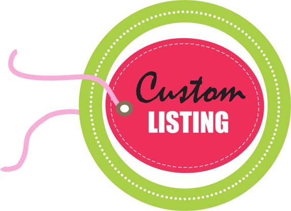 Custom Listing for Catherine-Necklace Only