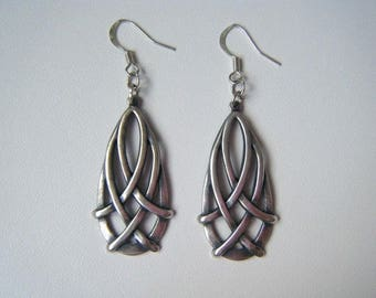 Earrings drops ♥ Celtic silver ♥