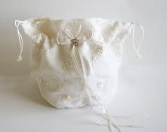 Brides Draw String Bag, Dollar A Dance Bag,  Quinceanera money bag,