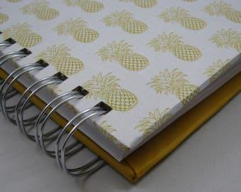 Graph Notebook, Triple Journal, Bullet Journal, Lined Notebook, Blank Journal, Sketching Journal,Square Journal, Blank Notebook, Pineapple