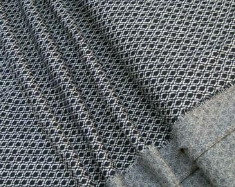 lillestoff Jacquard knitwear bilberry pitti Organic-Cotton 0.54yd (0,5m) 003341