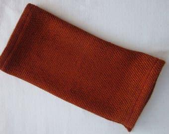 Sustainably Soft Bamboo Washcloths, Rust