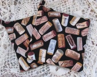 Cork Fabric Pot Holders, Trivets Designer  Fabric, Treat  Yourself