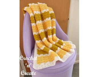 Lapghan Blanket Crochet Pattern (DOWNLOAD) CNC61