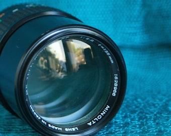 Minolta 135 MM F2.8 Lens for Minolta MC mount