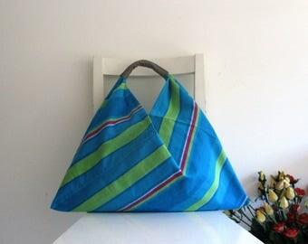 Colorful Japanese Bento Slouchy Shoulder Bag