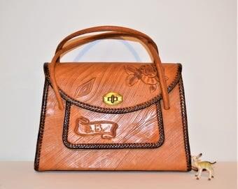 Vintage Handbag Wild Rose