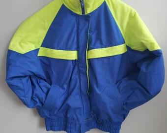 1990s Neon Ski Jacket