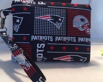 Patriots Wristlet