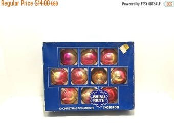 Mid Year Sale Vintage Christmas Ornaments, Vintage Ornaments, Mercury Glass Ornaments, Christmas Ornaments, Christmas Decor, Shiny Brite Pol