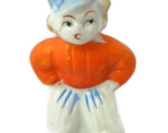 Vintage Dutch Boy Figurine  Vintage 1960's