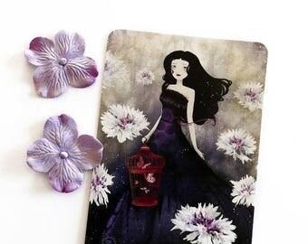 30% Off - Summer SALE 30 Percent Off - Summer SALE Purple Meadow - Postcard