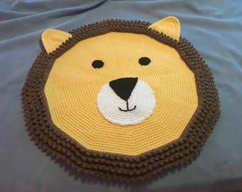 Leo the lion rug