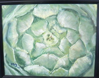 Artichoke 11x14 with frame