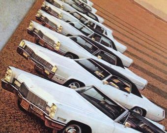1968 Cadillac Advertisement