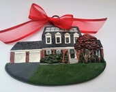 Custom listing for- ohshunsea- one Custom House Ornament