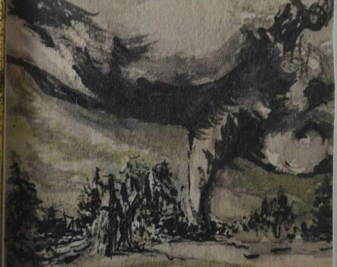 sale Miniature Art, Pencil Drawing, Tornado Drawing, Weather Drawing, Tornado Image, Tornado Alley, Twister Drawing, Storm Drawing,