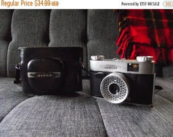 SALE 25% OFF 1960's Wards XE200 35mm Film Camera with Case