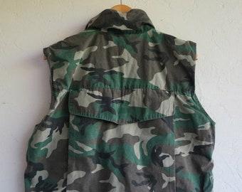 40% OFF Camo Army Vest