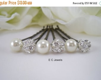 Summer Sale Elegance and Pearls Hairpins