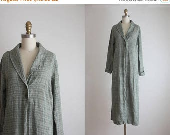 25% SALE FLAX linen duster