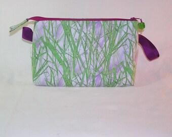 Violet Grasses Tall Mia Bag