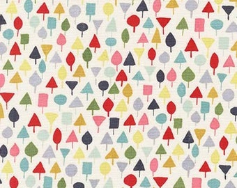 Michael Miller Fabric Little Orchard in color garden Choose your cut